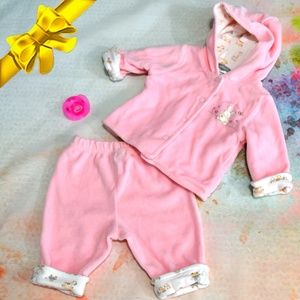 Carter's Matching Sets - Carter's Love Me Bunny Hoodie Layette ~0dl06p1a2t